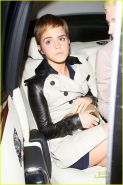 Emma Watson sexy upskirt and nipple slip paparazzi photos
