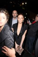 LeAnn Rimes nipple slip at The NOH8 4th anniversary party in Hollywood