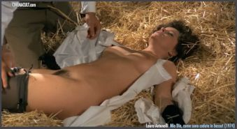 Cult italian actress Laura Antonelli nude scenes from various mo
