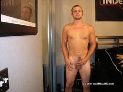 Tattooed army hunks exposing their dicks for the cam
