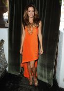 Brooke Burke leggy  cleavy at the Genlux magazine cover photoshoot