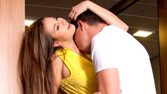 Conny is a gorgeous busty babe that gives the most passionate blowjob, when she
