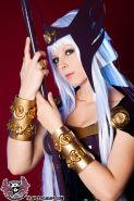Cosplay Hilda of Polaris costume