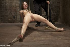 Remy LaCroix reeks of innocence. However when the ropes go on, she transforms in