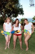 Micky Bells Gya Roberts and Terri Jane  supersoaker