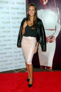 Michelle Keegan showing huge cleavage for the  Lipsy range launch at the Rosewoo