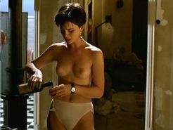 Kate Beckinsale showing her nice big tits in nude movie caps