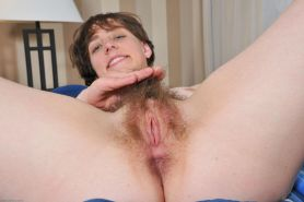 Hairy pussy natural amateur spreading snatch #76525954
