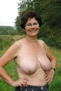 amateur grannies showing off their big boobs #67190159