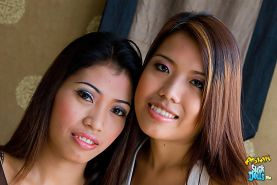 Thai beauties share a very intimate moments together
