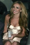 Nadine Coyle showing her panties upskir paparazzi pictures