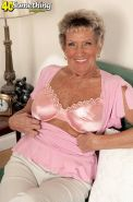 Naughty sexy granny lady showing perfecy aged body