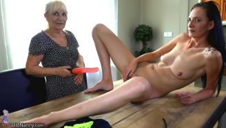top mature and milf lesbian action