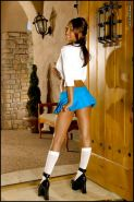 Priya Rai Strips and Spreads as a Schoolgirl