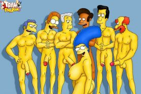 Toon porn for big boobie lovers. Evil famous toons getting sex