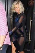 Julianne Hough shows off her tits in see through dress leaving the Dancing With