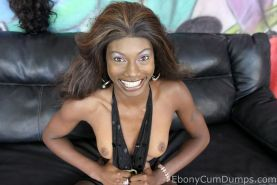Ghetto ebony whore getting brutally fucked and facialized in this set
