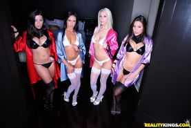 Top lesbian girls celebrated lesbo birthday in wold orgy