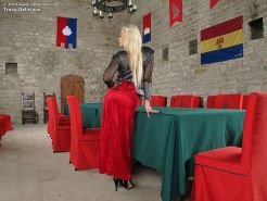 Tracy Delicious as medieval noblewoman with horny pussy
