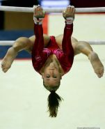 Gymnast crotch shots