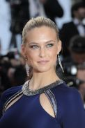 Bar Refaeli shows pokies wearing skin tight maxi dress at 'The Beaver' premiere