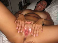 Busty mature amateur wife