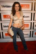 Alyssa Milano showing wonderful exposed breasts