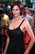 Catherine Bell showing panties in see thru dress paparazzi photos and big boobs