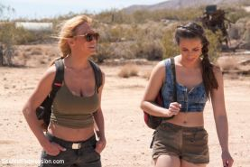 In a post apocalyptic future, Darling and Casey Calvert are captured by a savage