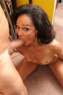 Busty mature lady getting nailed her black hairy pussy #77285790
