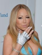 Mariah Carey shows off her giant funbags at 2014 Fresh Air Fund Gala in NYC