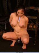 Extreme oriental needle pain and pussy punishment