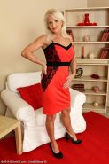 Blonde and elegant Inez from AllOver30 showing off her mature body Inez Apr 22nd