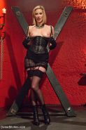 Maitresse Madeline femdom strapons and milking her chastity bdsm sub Artemis Fau
