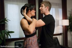 In this BDSM fantasy role play, Danny's mistress Penny tries to sabotage his mar