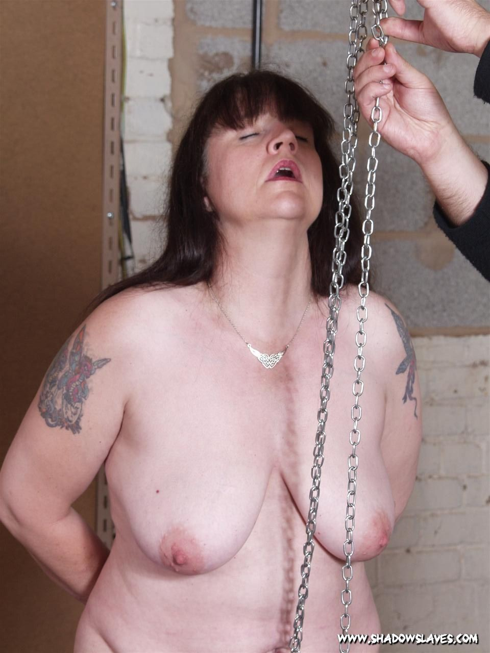 Jays mature pussy pain and extreme bdsm submission in the dungeon for the experi #72120084