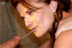 Lucy Lawless showing her pussy and tits and fucking hard