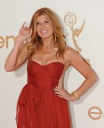 Connie Britton showing huge cleavage at 63rd Primetime Emmy Awards