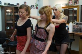 Sweet Lorelei Lee teach two ginger skanks a well deserved lesson