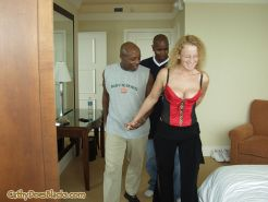 Black guys have their way with Blonde hotchick