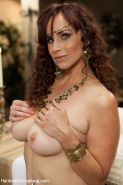 In this fantasy role play update Bella Rossi plays a Roman royal who is losing f