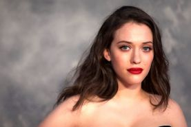 Busty Kat Dennings wearing a strapless dress at the 'Thor: The Dark World' UK pr