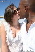 White slut Bobbi Starr gets black cocked