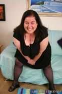 Fat bigtits mature in stocking having interracial sex on couch