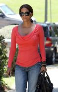 Halle Berry showing tits and ass and nipple slip paparazzi pix