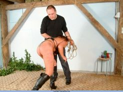 Extreme slavegirls rough nipple pain and intense bound breast whipping punishmen