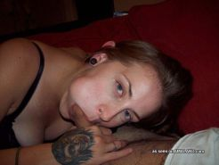 Picture compilation of wild amateur babes sucking on stiff dicks