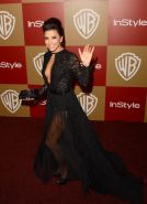 Eva Longoria nipple slip at the 70th Annual Golden Globe Awards in Beverly Hills