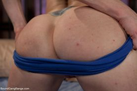 After a long hiatus Audrey Hollander is back in the business. This AVN award win