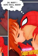 Spiderman sex comics